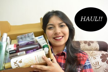 Beauty/Makeup Haul: Nykaa & Amazon, Indian Beauty Blog, Indian Makeup Blog