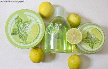 The Body Shop Virgin Mojito Body Scrub, Body Butter, Body Splash Review