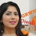 Indian Festive Diwali Makeup & Outfit, Indian Makeup and Beauty Blog, Indian youtuber