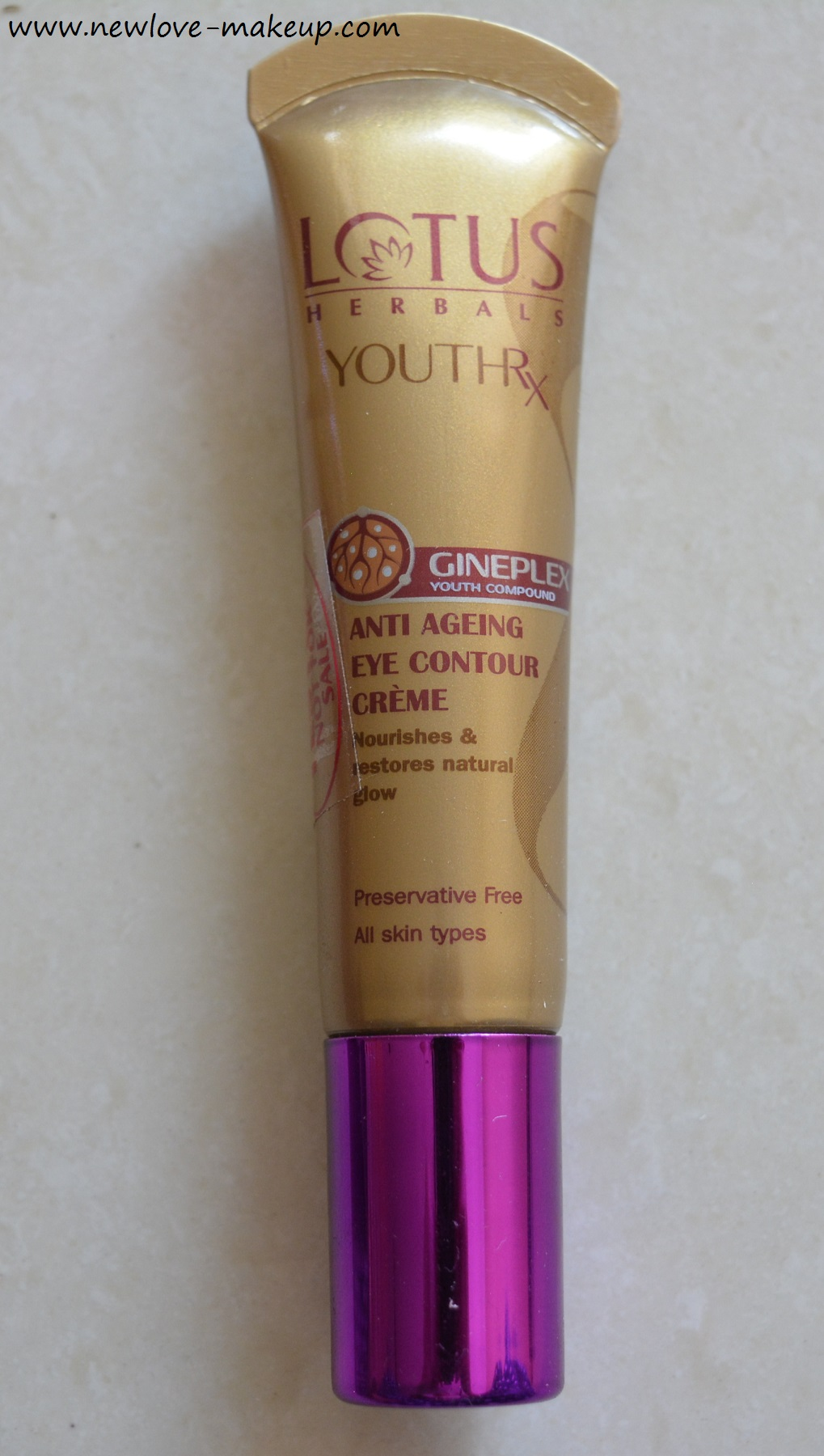 Lotus Youth Rx Eye Cream Review