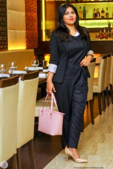 Dungarees 101: How To Rock Dungarees, Indian Fashion Blogger, Outfit of the Day, Dungarees for evening formal wear