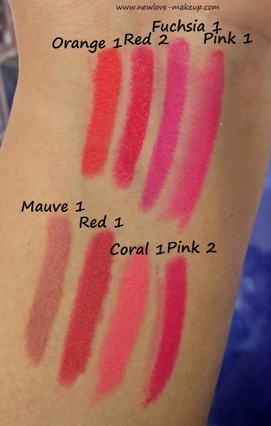 Maybelline India Lip Gradation Info, Price, Shades, Swatches