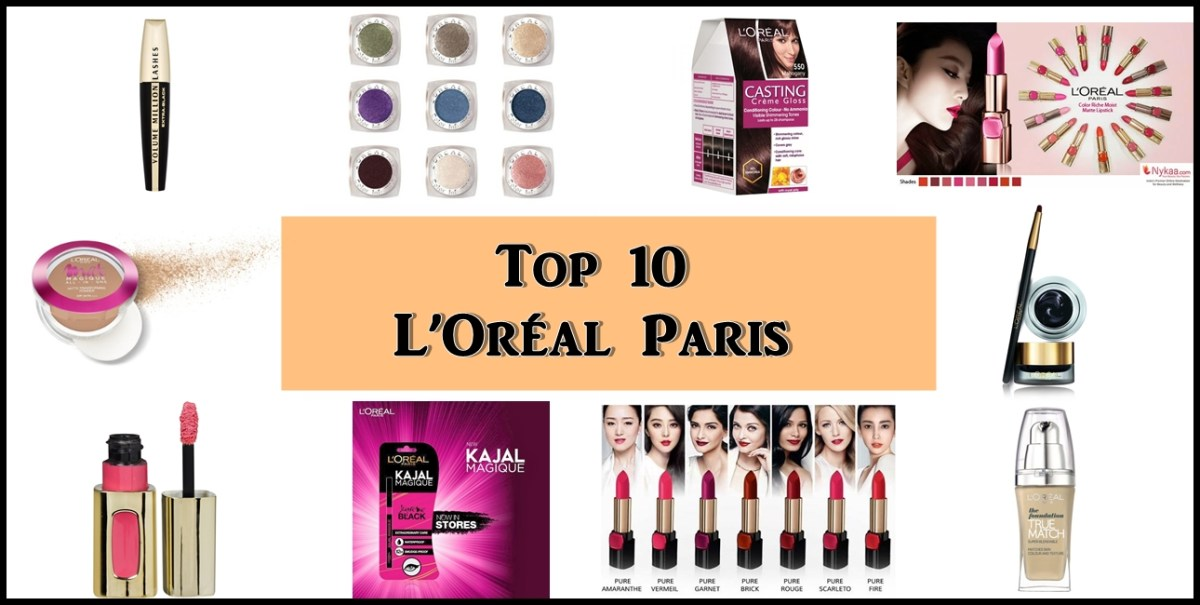 Top 10 L'Oreal Paris Products in India, Prices, Buy Online