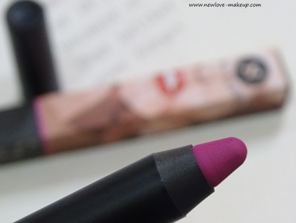 Sugar Matte As Hell Crayon Lipstick 02 Mary Poppins Review, Swatches