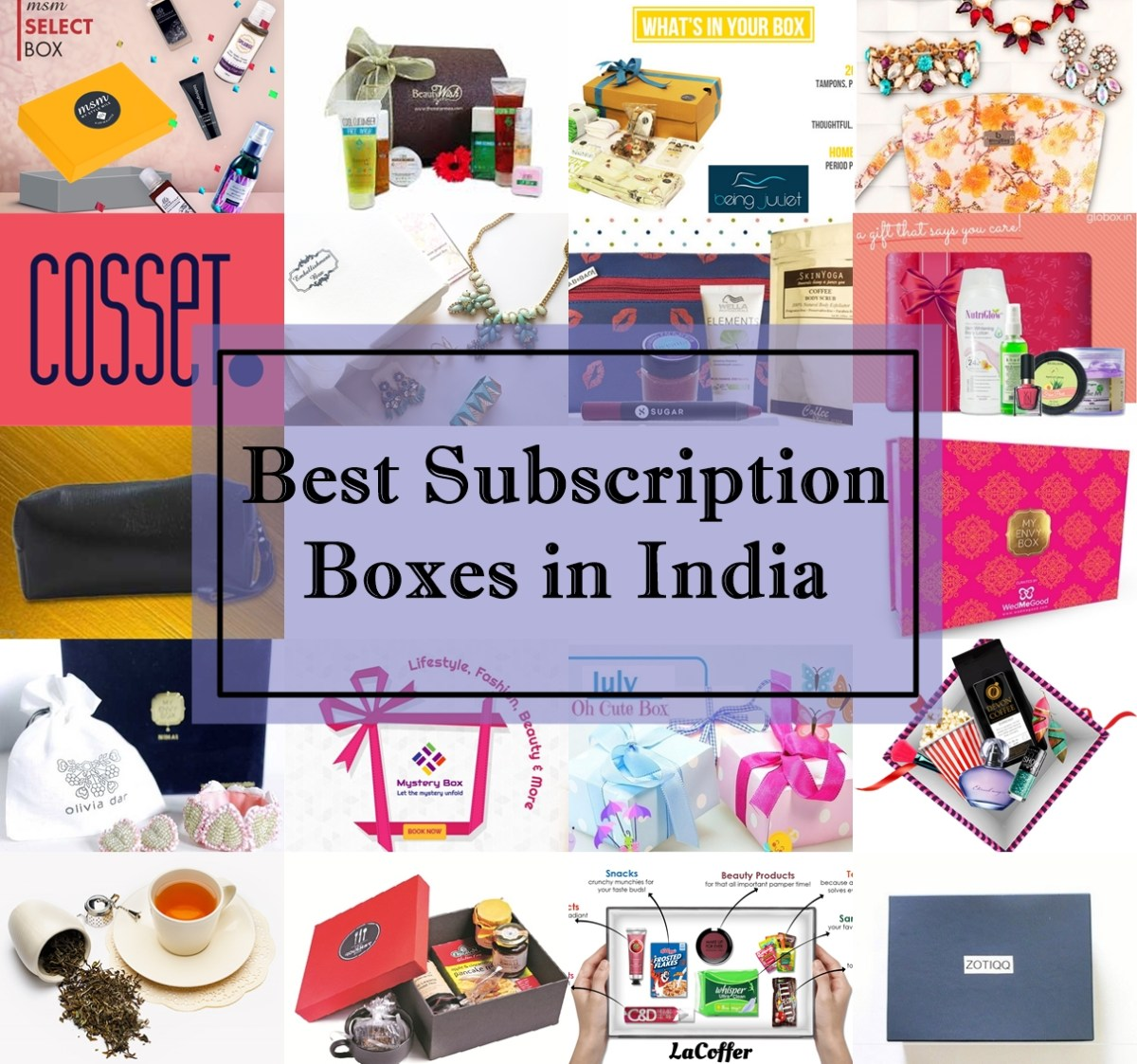Best Subscription Boxes in India, Prices, Details