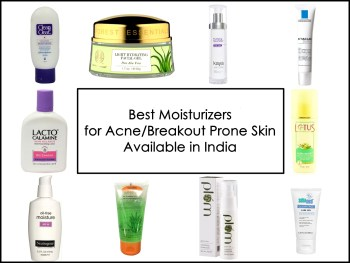 Best 10 Moisturizers for Acne/Breakout Prone Skin Available in India, Prices, Buy Online