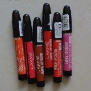 Lakme Enrich Lip Crayons Review, Swatches