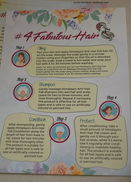 Himalaya Herbals Anti-Hair Fall Range Review : #4FabulousHair