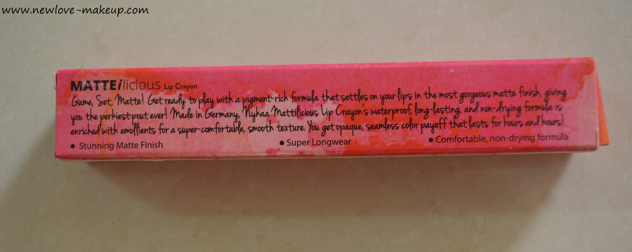 Nykaa Matteilicious Lip Crayons Review, Swatches