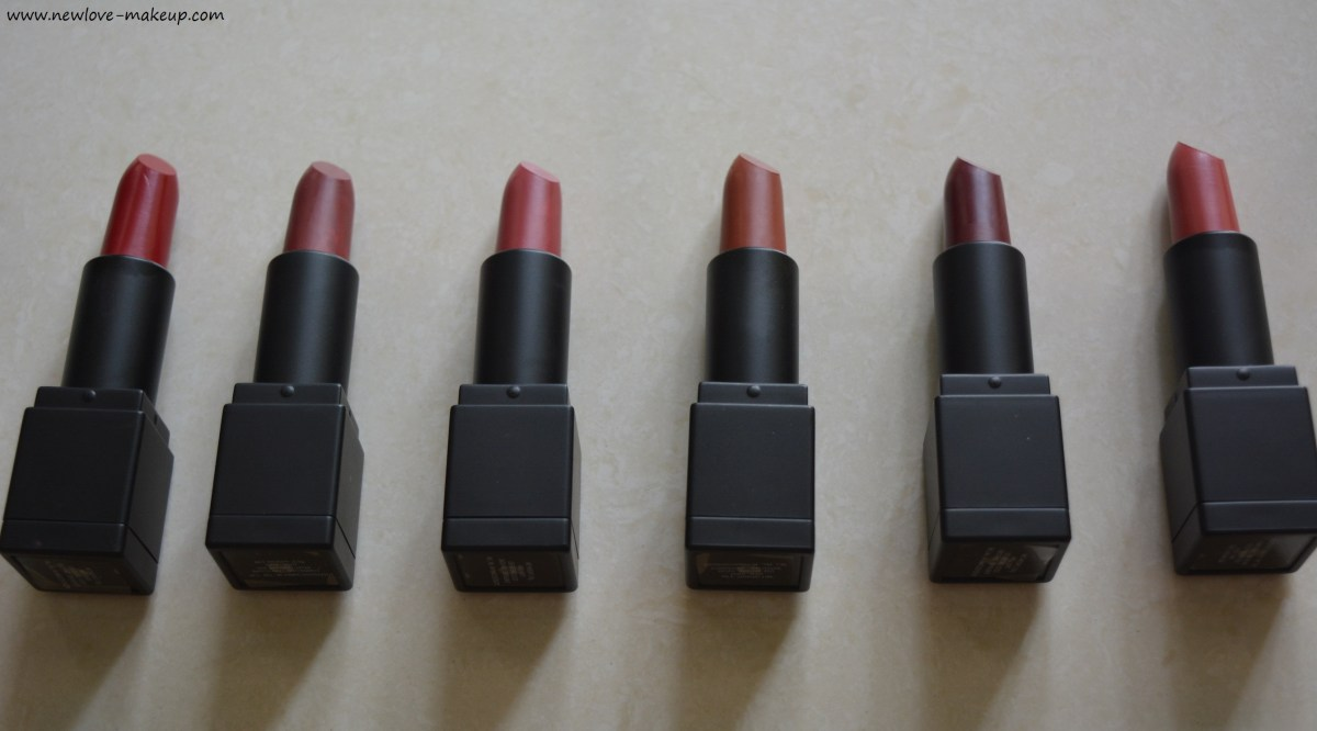 New Sugar Cosmetics Plush Hour Matte Lipsticks Review, Swatches