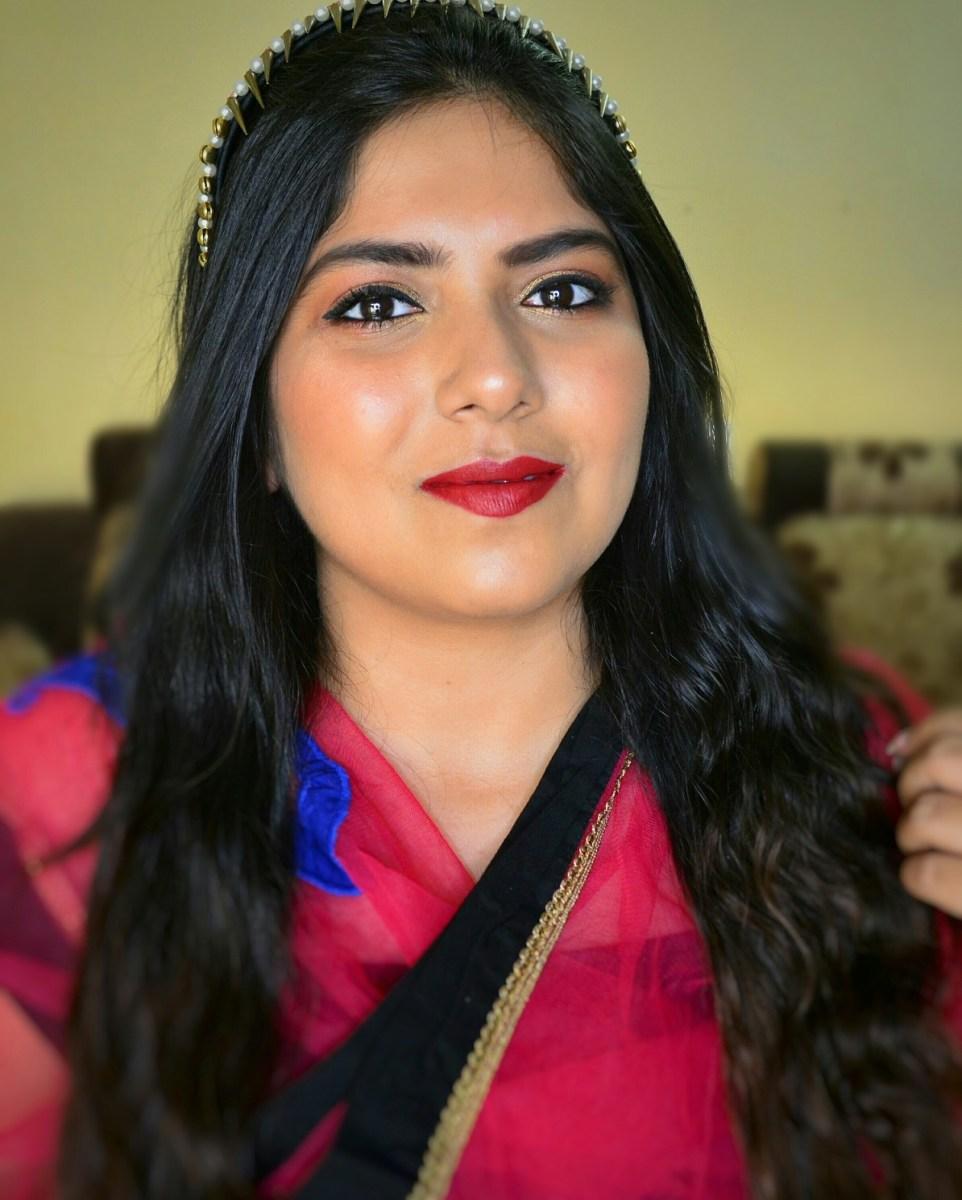 Indian Wedding Guest Makeup Tutorial | Gold & Pink Eyes | Indian Makeup Blog