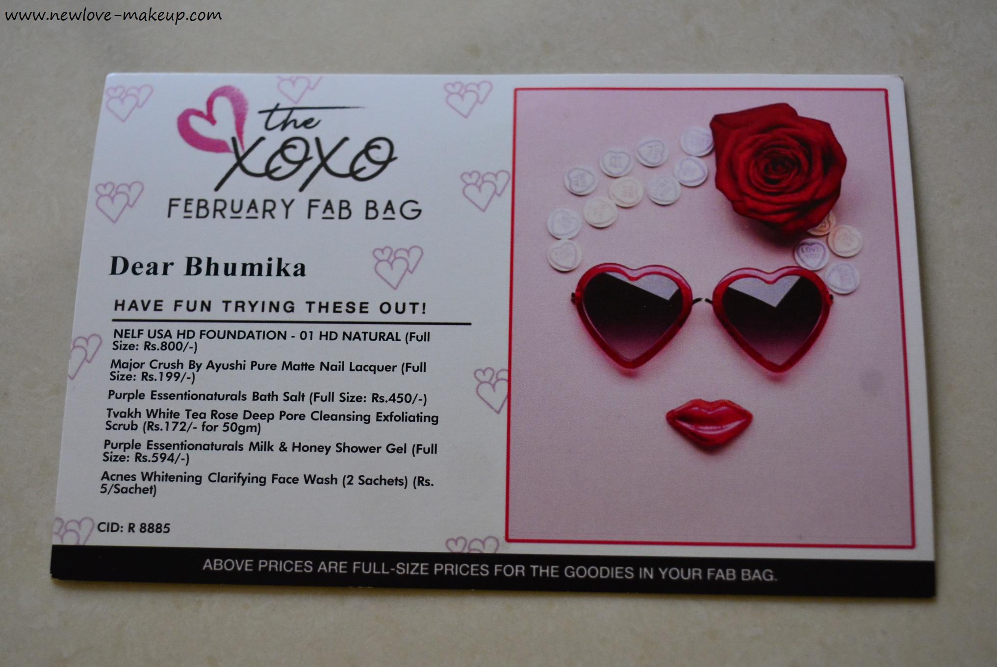 Feb 2018 Fab Bag Review & UnboxingFeb 2018 Fab Bag Review & Unboxing