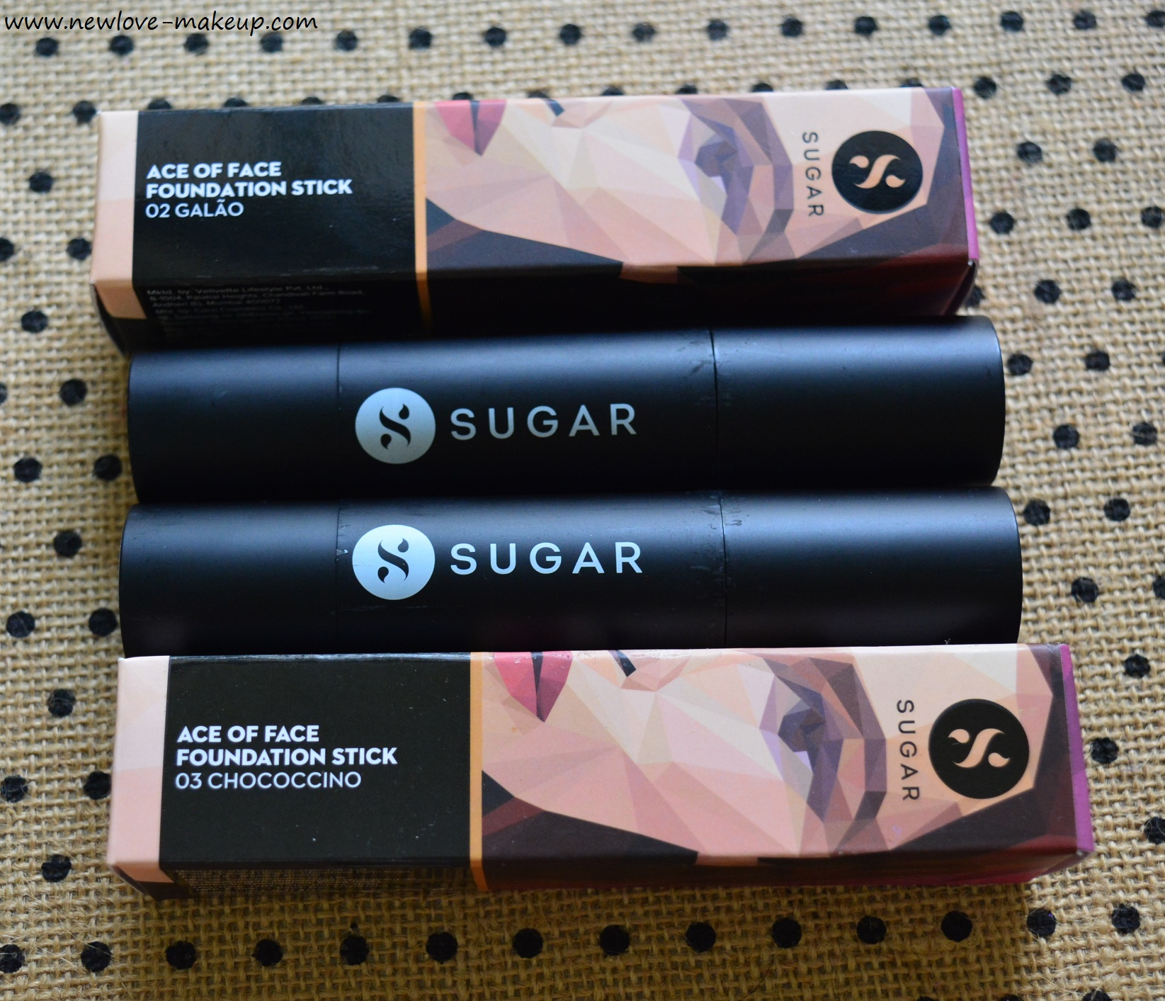 Sugar Ace of Face Foundation Sticks Review, Swatches, Demo, Wear Test