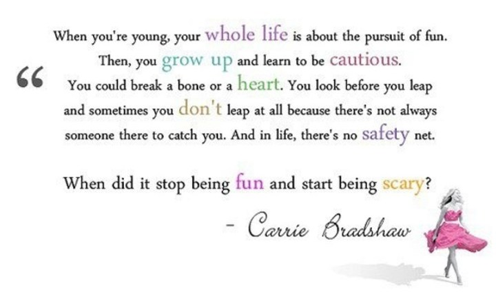 35 Carrie Bradshaw Quotes About Life & Love