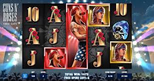 Guns-N-Roses Slot game review