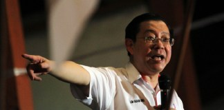 Finance Minister, Lim Guan Eng