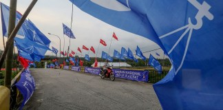 Rantau By Election Flags