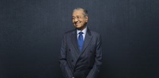 Mahathir Mohamad. Photographer: Brent Lewin/Bloomberg