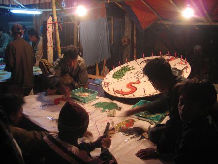 Taking the money in Burma