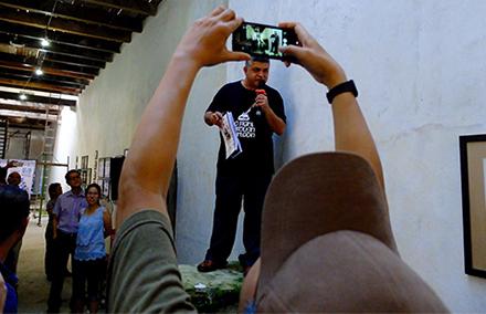 Malaysian cartoonist, Zunar. Photo: Michael Vatikiotis