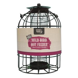 Peanut feeder with squirrel guard