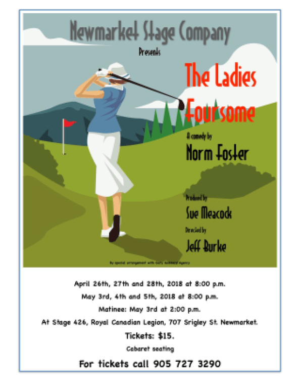 The Ladies Foursome Poster Image
