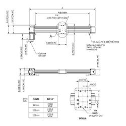 CS Series Belt Drive Linear Stage