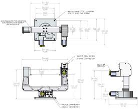 GM-12 Servo Motor Gimbal Mount