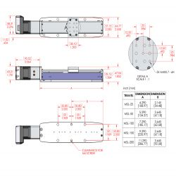 MSL MDrive Series Linear Stage