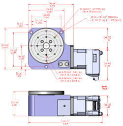 RM-3 MDrive Motorized Rotary Stage