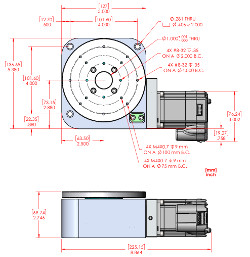 RM-5 MDrive Motorized Rotary Stage