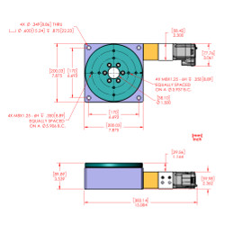 Motorized Rotary Stage : RM-8 MDrive