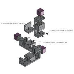 eTrack XYZ (50mm to 150mm)