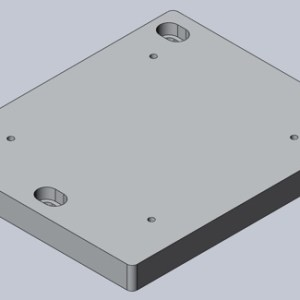MP-1 Optical Bench Adapter Plate