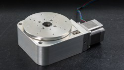 motorized precision rotary stage vacuum compatible