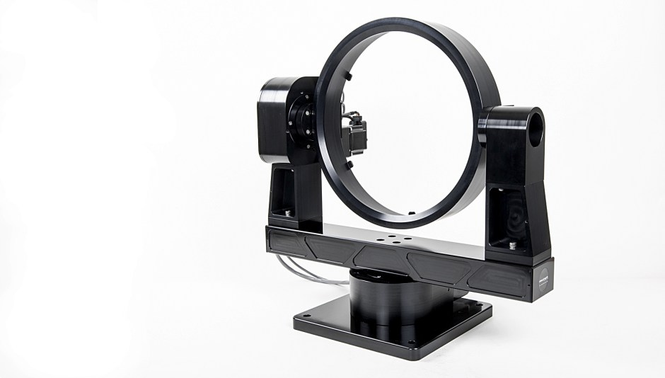 GM-12 2 axis gimbal mount with mirror cell