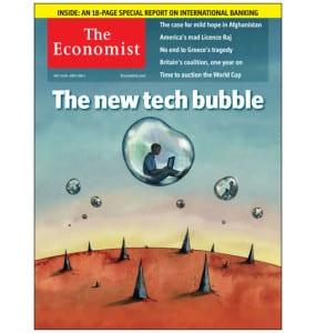 Economist Cover - New Tech Bubble