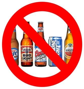 No-Light-Beers
