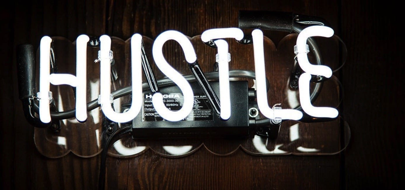 """The working in marketing """"hustle"""""""