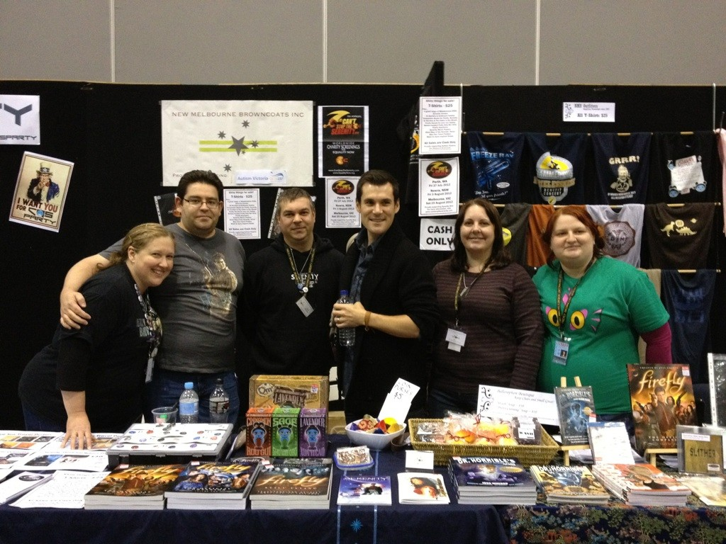 Browncoat Booth at Oz Comic-Con Melb 2012