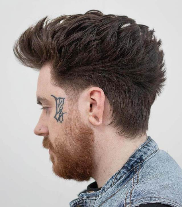 Faux hawk Hairstyles For Men