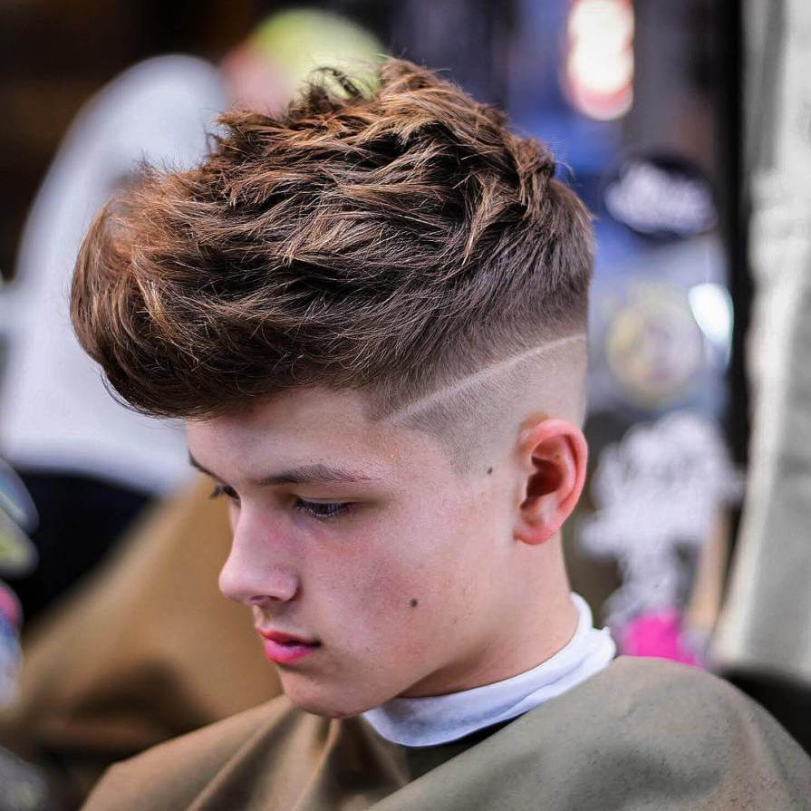 High Fade With Quiff hairstyles For Men