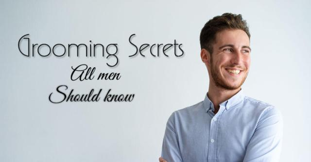 grooming tips for boys and men