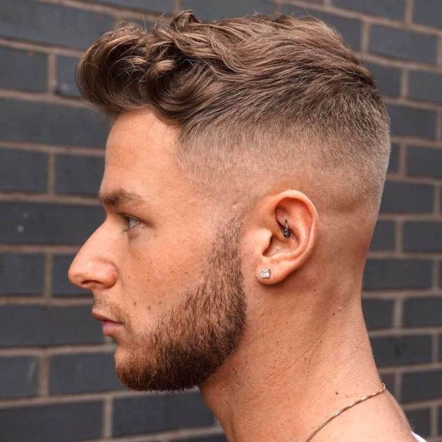 Short Textured Hairstyle For Curly Hair