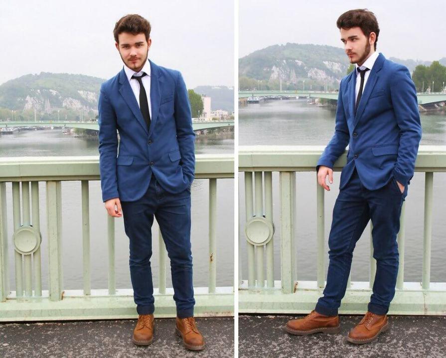 How to Wear Denim Formally-8