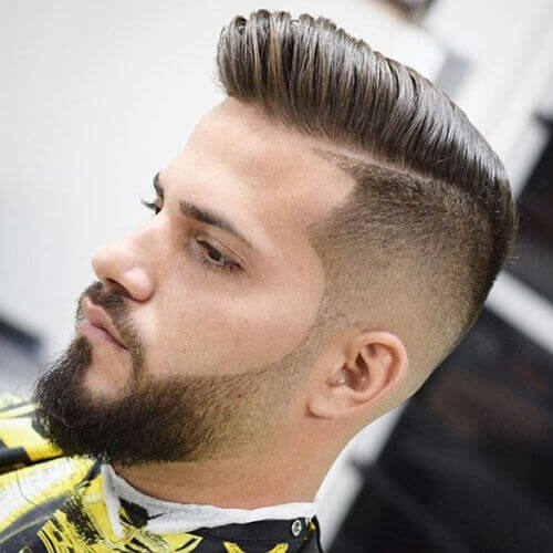 Faded Beard Styles For Men