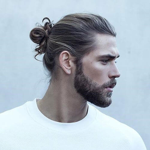 Man Bun + Beard