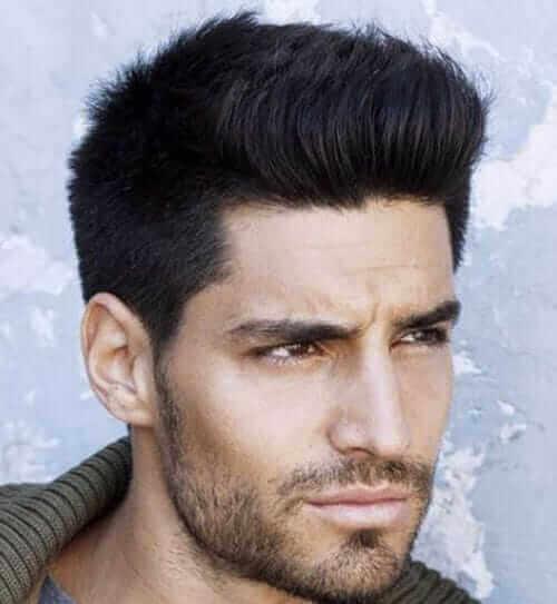 Light Stubble Beard Style