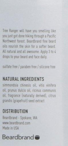 Beardbrand Tree Ranger Beard Oil- The best beard oil for men