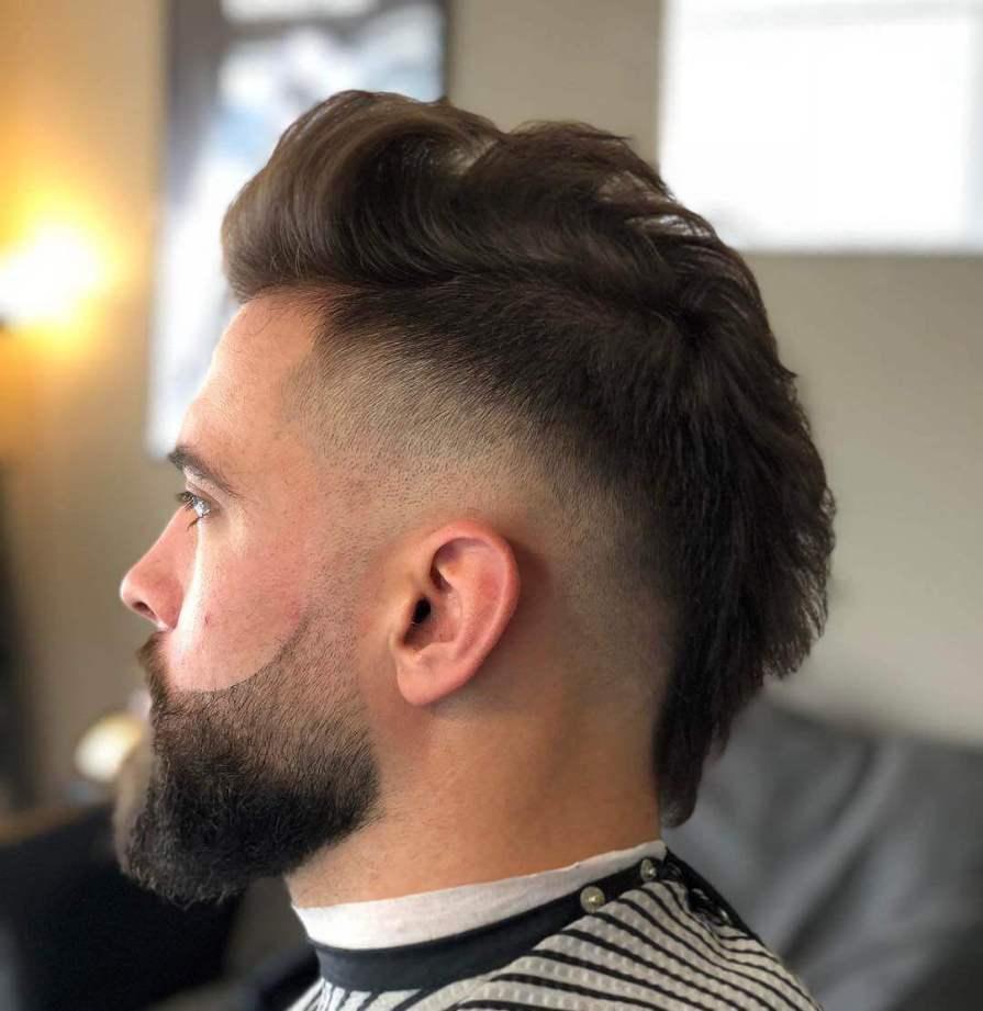 Mohawk Fade Haircut